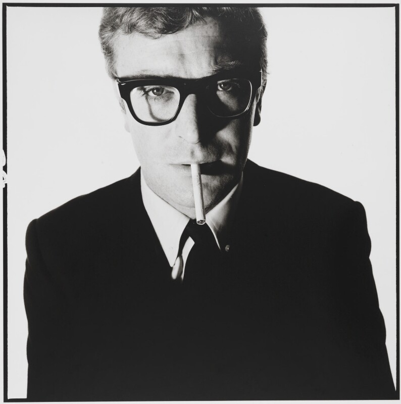 David Bailey's 1965 photograph of Michael Cane