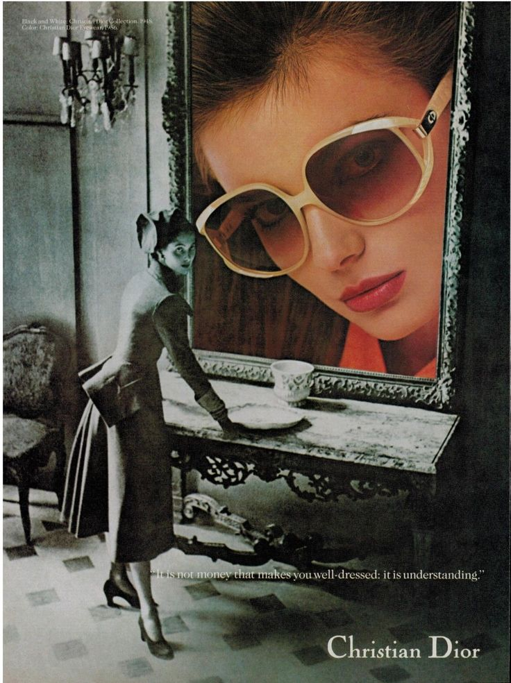 Christian Dior Sunglasses Advert