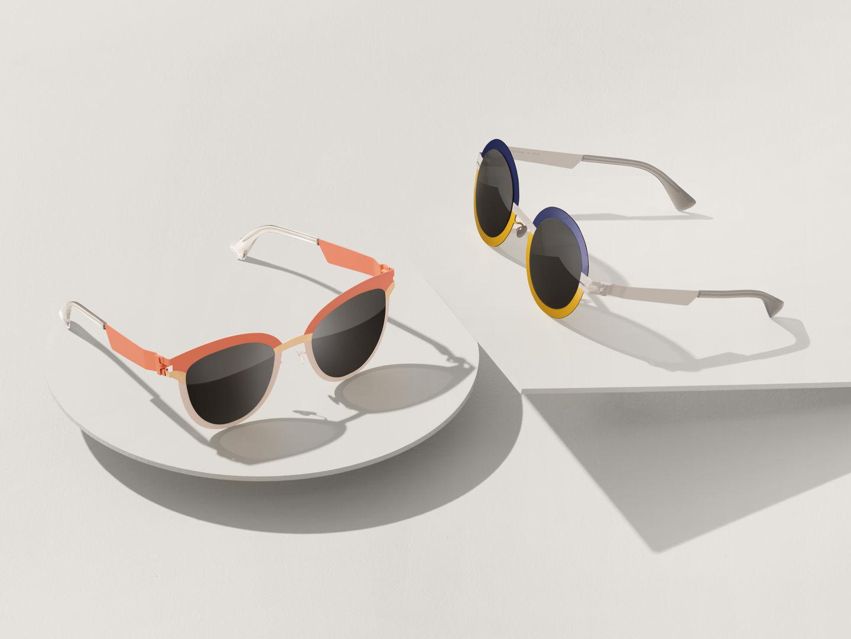 An example of Mykita's futuristic and innovative eyewear